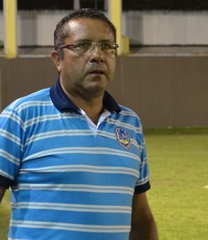 Suélio Lacerda, treinador do Lucena, na 2ª divisão do paraibano (Foto: Amauri Aquino / Globoesporte.com/PB)