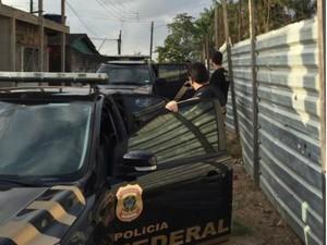 Polícia Federal deflagou Operação Gênesis nesta quinta-feira (1º) (Foto: Divulgação/PF)