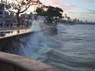 Alerta de ressaca prevê ondas de até quatro metros na PB, diz capitania