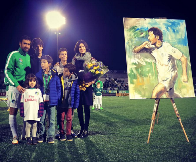 Raul Cosmos homenagem (Foto: Reprodução)