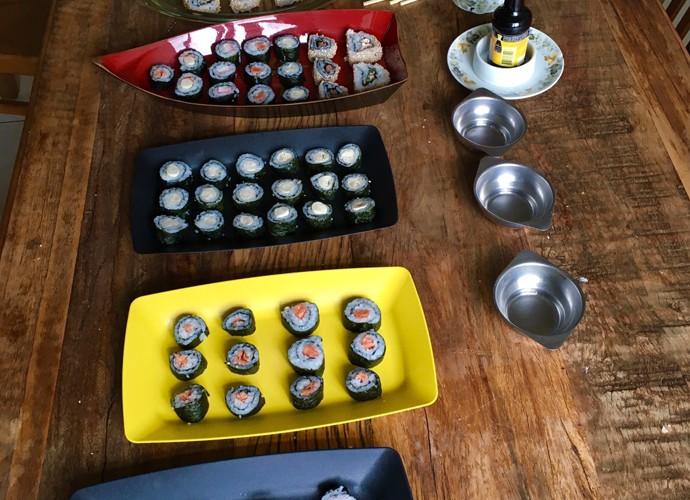 Molho especial dá toque diferente à receita (Foto: Arquivo pessoal)