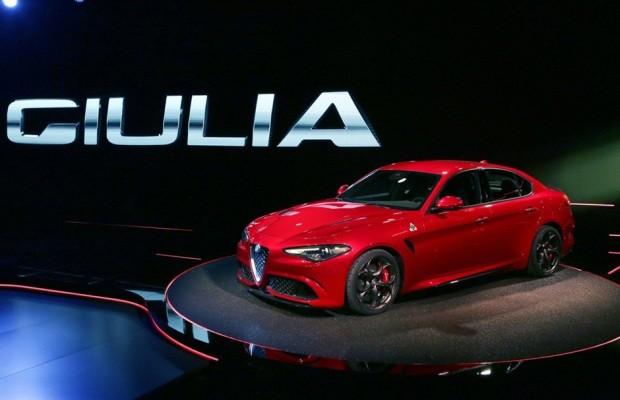 Giulia, da Alfa Romeo (Foto: Divulgação)