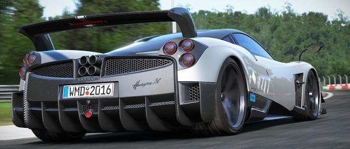 Edição Game of the Year the Project CARS trará dois carros da Pagani, como o Huayra (Foto: Divulgação/ Slightly Mad Studios)