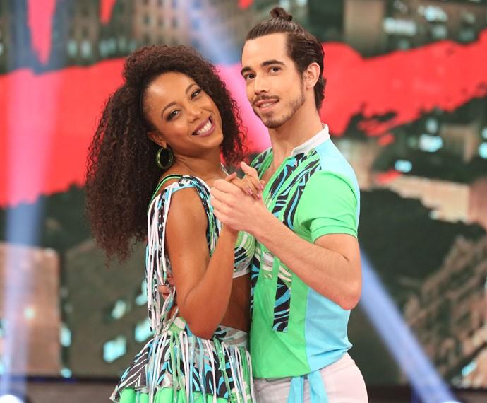 Dê sua nota para o casal Negra Li e Edgar (01/11) (Foto: Carol Caminha/Gshow)