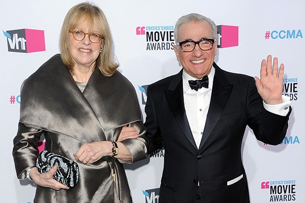Helen Morris e Martin Scorsese (Foto: Getty Images)