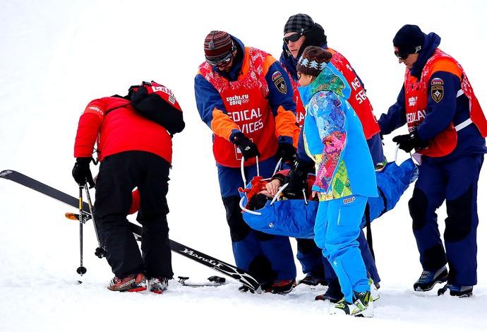 Yuki Tsubota queda Sochi atendimento (Foto: Reuters)
