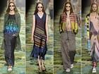 Dries Van Noten apresenta coleção cheia de estampas na semana de moda de Paris