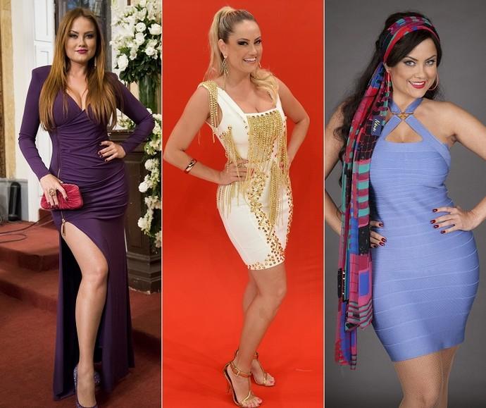 E aí, qual a Ellen você prefere? Ruiva, loira ou morena? (Foto: TV Globo)