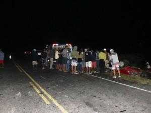 Causas do acidente ainda não foram determinadas pela PRE (Foto: Raimundo Mascarenhas / Site Calila Noticias)