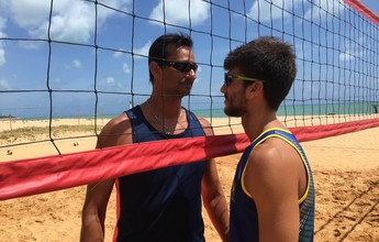 Pai x filho: Ricardo e Pedro podem fazer duelo inédito no vôlei de praia