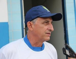 Sinomar Naves técnico do Nacional-AM (Foto: Gabriel Mansur)