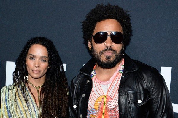 Lenny Kravitz e Lisa Bonet (Foto: Getty Images)