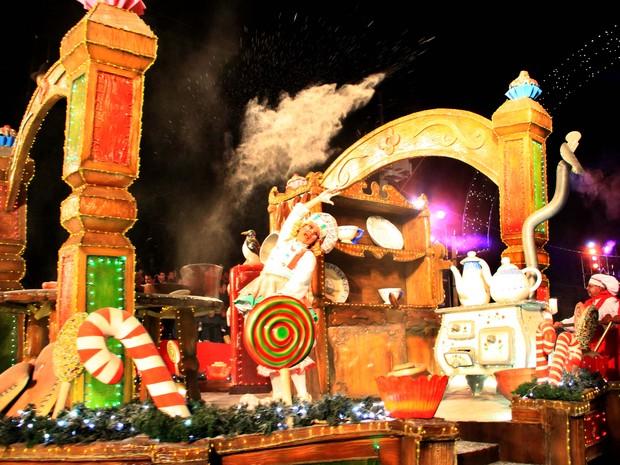 Grande Desfile de Natal terá pré-estreia no próximo domingo (Foto: Cleiton Thiele/Divulgação, SerraPress)