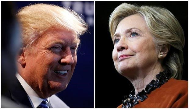 Disputa entre Trump e Hillary foi marcada por insultos, linguagem obscena, acusações sarcásticas (Foto: Carlo Allegri/Reuters)