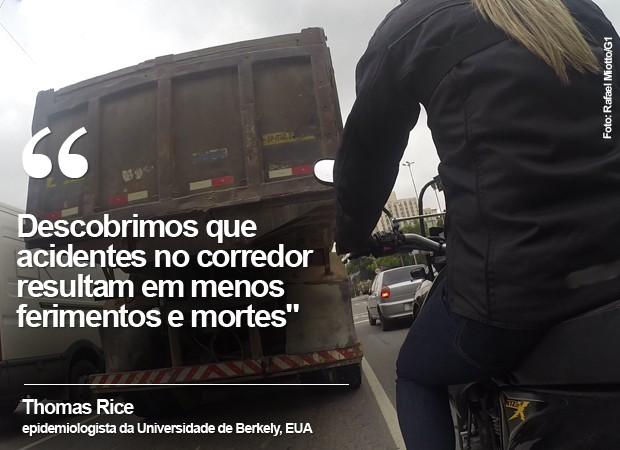 Motos corredor cartela (Foto: Rafael Miotto/G1)