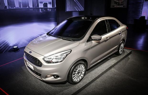 Ford revela versão sedã do novo Ka (Foto: Rafael Munhoz)
