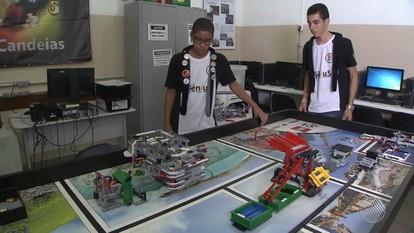 Alunos do Sesi/Candeias participam de competição internacional de robótica