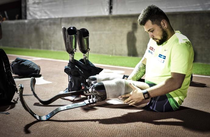Alan Fonteles: atleta paralímpico descoberto na infância em um programa do CPB  (Foto: Alexandre Battibugli)
