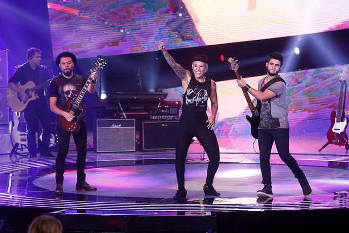 Turne se apresenta no Superstar (Foto: Inácio Moraes)