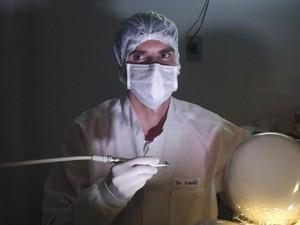 'Dentista' Rodrigo Pimpão (Foto: Tiago Menezes)