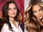 Barbara Fialho muda de visual e troca cabelos escuros por loiros; compare
