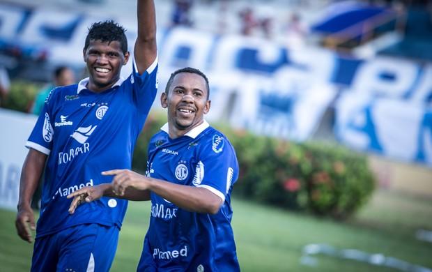 Vitória do Confiança foi convincente (Foto: Fillipe Araújo-ADC)