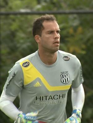 Goleiro Marcelo Lomba Ponte Preta (Foto: Reprodução / EPTV)