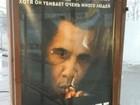 Propaganda antitabaco em Moscou diz que fumo 'mata mais que Obama'