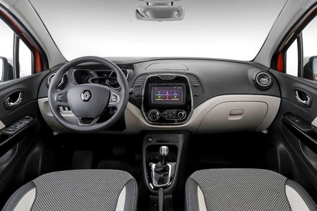 teste renault captur 1 6 cvt intense auto esporte an lises. Black Bedroom Furniture Sets. Home Design Ideas