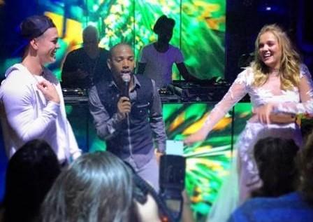 Biel e Nego do Borel na festa de Gabi Lopes (Foto: Reproduo/Instagram)