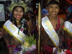 Miss e Mister foram escolhidos no último sábado (30), em Cacoal (Foto: Rogério Aderbal/G1)