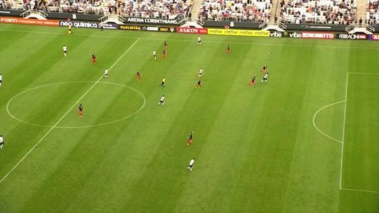 Corinthians vacila, cede empate ao RB e fica longe de luta por liderança geral