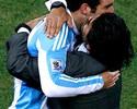 """Em mensagem gravada, Maradona fala de """"traição"""" de Higuaín ao Napoli"""