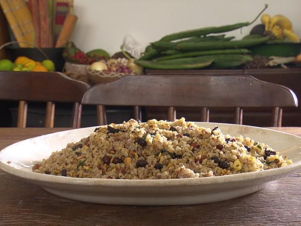 Aprenda a receita de arroz com tanajuras e amendoim (Grep) (Foto: Globo Repórter)