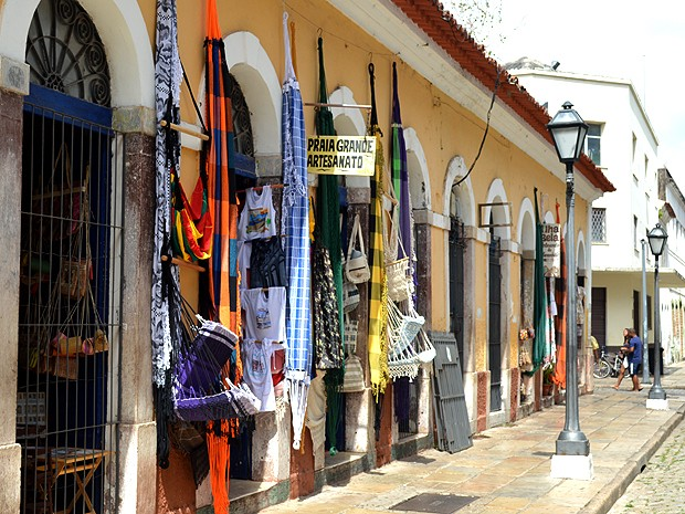 Casa das Tulhas, no Centro Histórico de São Luís (MA) (Foto: Maurício Araya / G1)