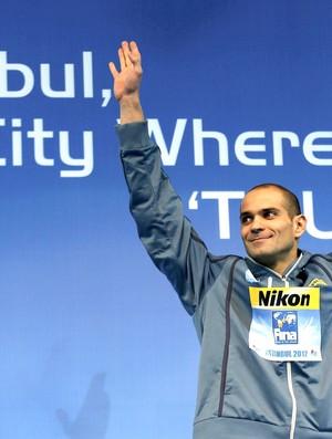 Nicholas Santos, Istambul, Natação (Foto: Agência Reuters)