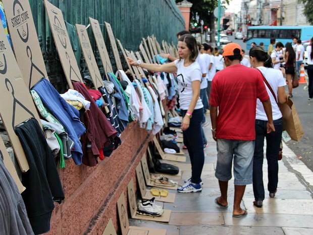 The Street Store aconteceu em Manaus pela primeira vez neste domingo (5) (Foto: Indiara Bessa/G1-AM)