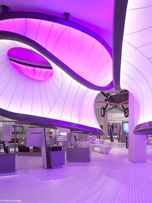 Conheça a Galeria da Matemática  projetada por Zaha Hadid Architects (Foto: Divulgação)