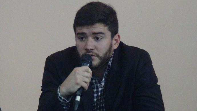 Felipe Feijó, presidente da FAF (Foto: Leonardo Freire/GloboEsporte.com)