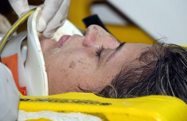 Delegada foi uma das vítimas do acidente que aconteceu na RN-013 no início da semana  (Foto: Marcelino Neto/G1)