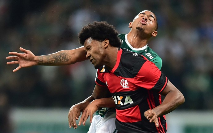 Rafael Vaz Gabriel Jesus Flamengo Palmeiras (Foto: Marcos Ribolli)