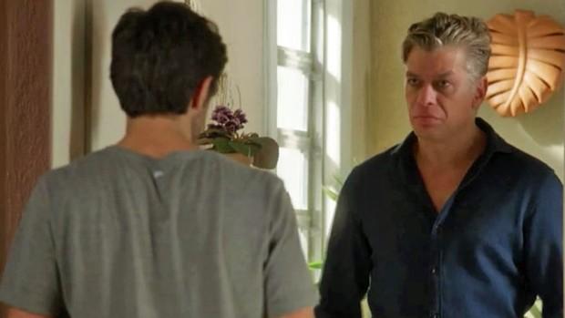 Totalmente Demais: Jonatas recebe visita de Arthur (TV Globo)