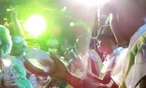 Escolas de samba desfilam para 4 mil (Heloise Hamada/G1)