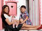 Nívea Stelmann sobre maternidade: 'Pulei de um para três filhos'