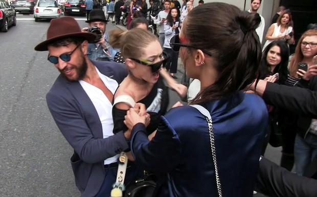 Gigi Hadid é agredida em Milão... e responde à séria