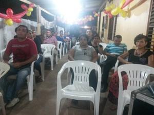 Convenção foi realizada na sede do partido em Macapá (Foto: Cassio Albuquerque/G1)