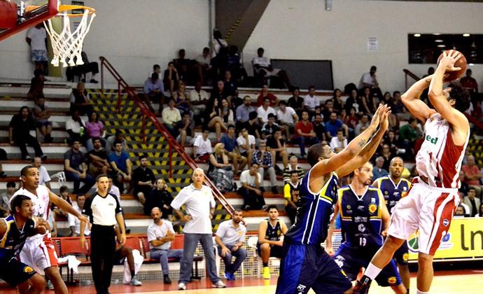Paulistano x São José Basquete NBB (Foto: Arthur Marega Filho/São José Desportivo)