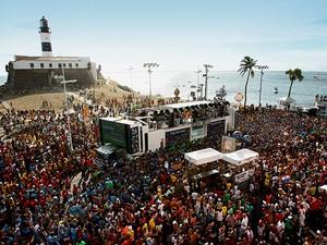 Carnaval de Salvador (Foto: Fernando Vivas/Agência A Tarde/Estadão Conteúdo)