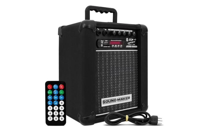 Caixa de som amplificada Sound Maker MP10X (Foto: Divulgação/Sound Maker)