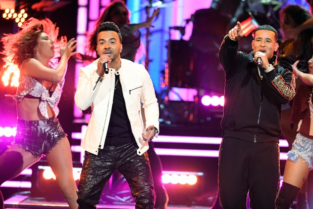 Luis Fonsi e Daddy Yankee (Foto: getty images)